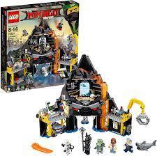 Amazon.com: LEGO Ninjago Movie Garmadon's Volcano Lair 70631: Toys & Games