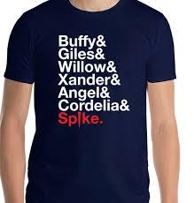 Buffy The Vampire Slayer Shirt Btvs Buffy Ampersand Scooby Gang
