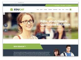 Templates For Education 30 Best Education Website Templates 2019 Themefisher