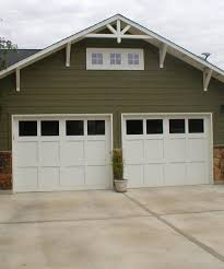 craftsman garage doorsSimple Craftsman Style Garage Doors