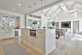 Nice White Modern Interior Design With Modern Farmhouse Styled Interior In  White