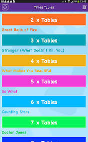 Maths Rockx EDU - Times Tables - Android Apps on Google Play