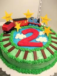 Fresh Birthday Cake For Boys For The Train Cake For Sons Birthday
