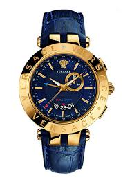 versace collection watches for men women at helios watch store versace round analog blue dial mens watch