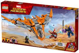 Lego Marvel Super Heroes 76107 Thanos Poslední Bitva Stavebnice