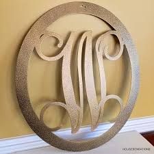 Decorative Door Hangers Monogram Door Hanger Etsy