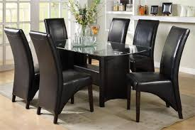 glass top tables and chairs. Dining Room Top Best Round Glass Tables Contemporary Startupio Beautiful Topped Table And Chairs I