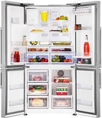 beko gne134750x 725l french door fridge