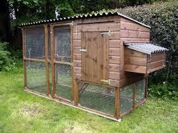 The James Chicken Coop Hen House and Run  woodenart