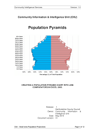 Pyramid Chart Excel Pdf Excel 2003 Pyramid Chart With Comparators