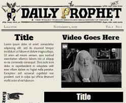 Harry Potter Newspaper Template