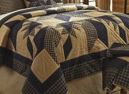 Rustic Country Black Star Quilt & Dakota Rustic Country Black Star Quilt Adamdwight.com