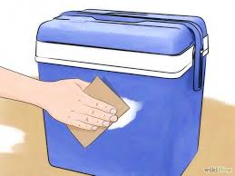 paint a cooler step by step