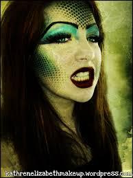 medusa evil queen makeup