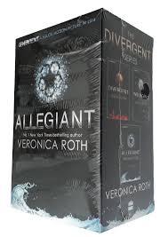 divergent trilogy veronica roth box set 3 books allegiant insurgent sf new