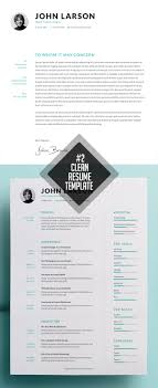 26 Clean And Minimal Resume Templates Idevie