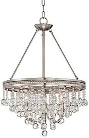 unthinkable brushed nickel crystal chandelier regina 19 wide com orb 6 light vanity wall