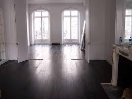 grey wood floor colors. wood floor refinished accessories interior white painted wall color also large glass curved top windows with dark grey colors l