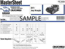 crutchfield car audio installation instructions instructions for crutchfield car audio installation instructions instructions for removing the radio and speakers in your specific vehicle at crutchfield com