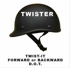 Crazy Al S Helmets Size Chart Details About Microdot Twister The Smallest And Lightest Dot Helmets Worn Forward Or Backward