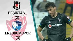 ÖZET: Beşiktaş 2 - 3 Erzurumspor (Goller) İzle
