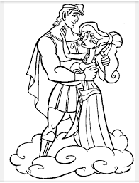 This coloring image height & width is around 600 pixel x 840 pixel with approximate file size for around 71.61 kilobytes. Hercules And Meg Coloring Pages Disney Coloring Pages Cartoon Coloring Pages Disney Princess Coloring Pages