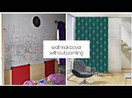 how to hide bad walls without paint