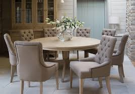 neptune henley round dining table room furniture intended for with armchairs prepare 6