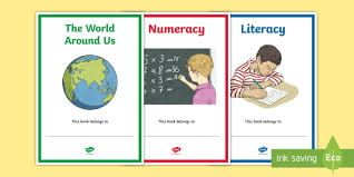 subjects editable book covers curriculum ni labels signs topics