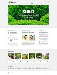 Small Picture Garden Design Responsive Joomla Template 47431