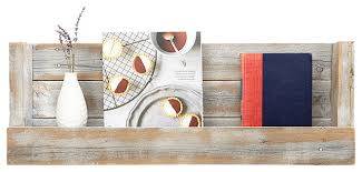 refined texas barnwood shelves white wash beach style display and wall shelves by del hutson designs