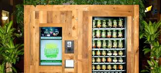 Eco Vending Machine Impressive Dispensing Fresh Micromarkets Take Produce Vending To The Next