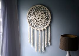 Giant Dream Catchers Extraordinary Caught On A Whim DIY Big Dreams Dreamcatcher