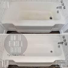 Refinish Bathroom Tile Enchanting DIY Bathtub Refinishing Beautiful Matters