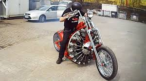 a chopper motorcycle fitted with an aeroplane engine pakwheels blog