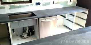 concrete kitchen the outdoor with and diy countertops c
