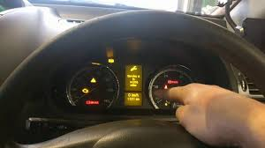 Mercedes Vito 2011 Service Reset