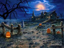 painting the haunted house by stu shepherd