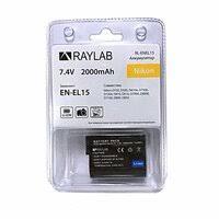 «Аккумулятор <b>Аккумулятор Raylab RL-ENEL15</b> 2000мАч ...