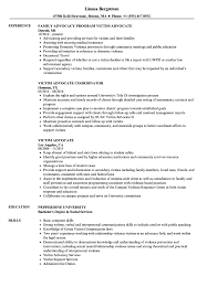 Family Advocate Resume Sample Victim Advocate Resume Samples Velvet Jobs 4
