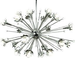 chandelier lighting fixtures home chandeliers modern sputnik light fixture with awesome starburst chandelier in polished nickel