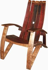 barrel stave adirondack chair plans patio seating ideas with whiskey and inspiring wine home designs of