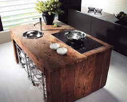 44 reclaimed wood rustic countertop ideas 44