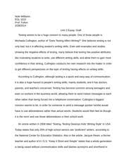 essay causes of stress to a community college student lovanne  3 pages essay reasons analysis