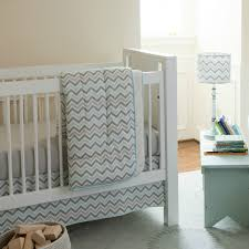 bedroom  simple baby girl chevron crib bedding sets white