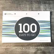 Calendar Countdown Days Creative Countdown Tear Off Countdown Calendar 100 Days Wall