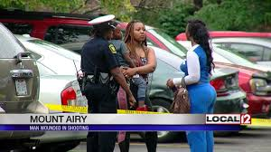 police investigate mt airy shooting