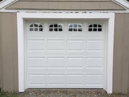 white wood garage door. Amazing White Wood Menards Garage Door Opener For Contemporary Exterior Decoration With Glass Window Plus Green Grass