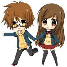 anime love chibi. Fine Chibi Cute Anime Couple  Cute Chibi Couples Pictures 1 With Anime Love Chibi N
