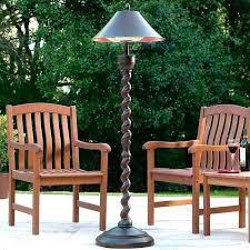 outdoor heat lamp patio heater